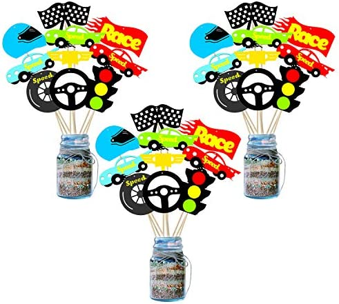 BeYumi Centerpiece Toppers Lets Birthday Decorations product image