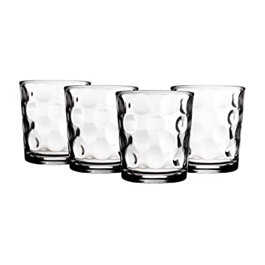 Home Essentials, Set of 4; Eclipse 13 Oz Double Old Fashioned Glasses
