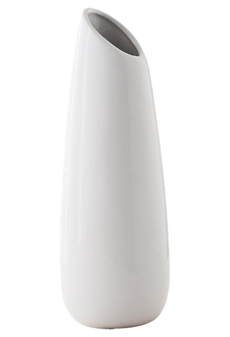 Jusalpha Elegant Home Decor Ceramic Vase (White)