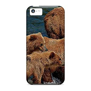 New Design Shatterproof AgP21205pDYy Cases For Iphone 5c (bears)