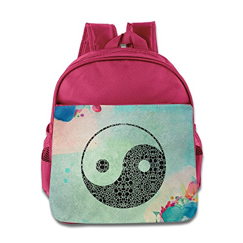 BERTHA China's Gossip Yin And Yang Pre-School Backpack For Kids In Nursery Pink