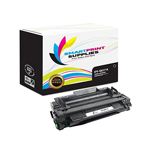 Smart Print Supplies Compatible 11A Q6511A Black Toner Cartridge Replacement for HP Laserjet 2400 2420 2430 Printers (6,000 Pages)