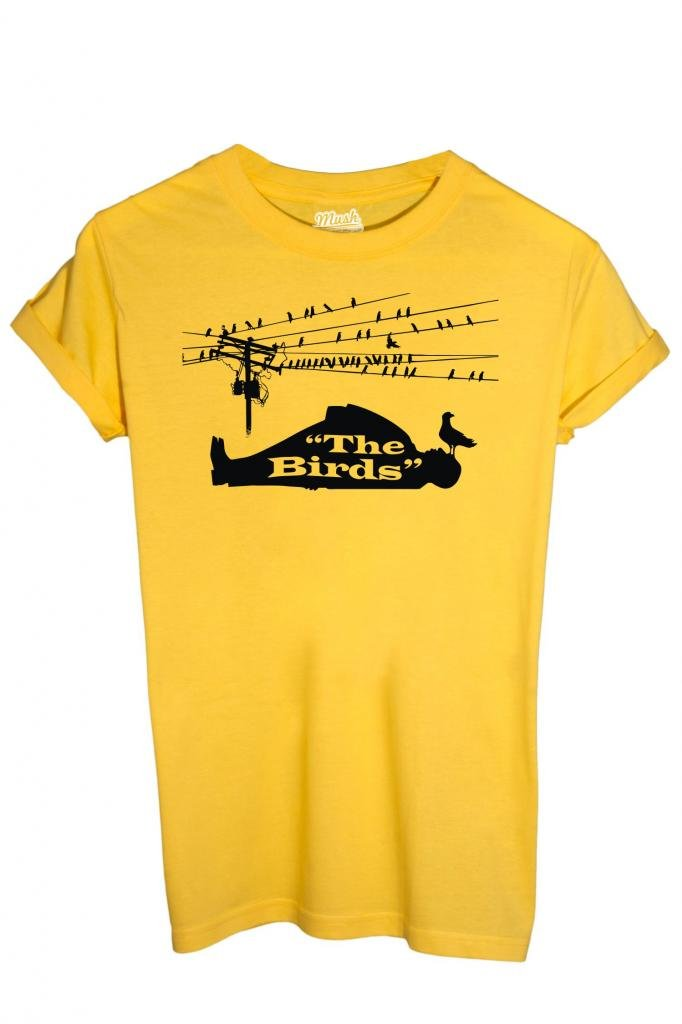 Film by Dress Your Style iMage T-Shirt Hitchcock The Birds