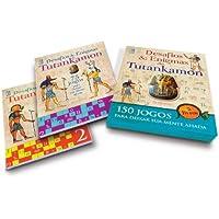Tutankamon. Desafios e Enigmas - Caixa. Livros 1 e 2