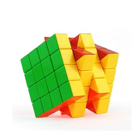 Amazon magic stickerless cube puzzle 4x4x4 family brain game magic stickerless cube puzzle 4x4x4 family brain game brain teaser brain teaser puzzles make yourself more solutioingenieria Images