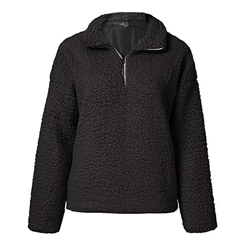 Blousons Coton Doudoune Noir Sweat Zipper Manteau Mode Sanfashion Suède Chaud Col Court FqfxCcYw