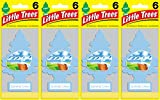 Automotive : Little Trees Summer Linen Air Freshener, (Pack of 24)