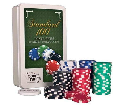 poker range Poker Chip Set Standard 11.5gr (100 Stück)