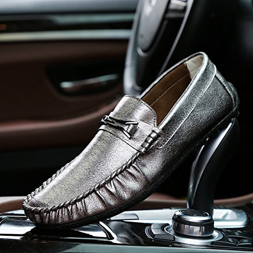 The Man Driving The Car Skid Shoes Casual Shoes High Quality Classic Casual Shoes Gun color tMRCI