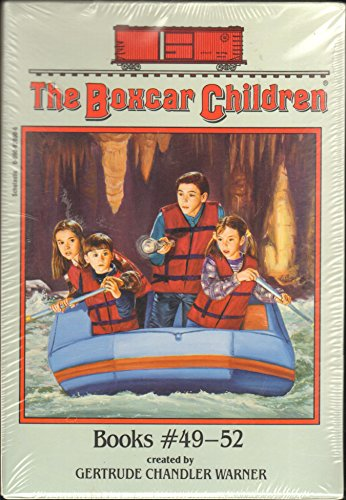 The Boxcar Children Boxed Set Books #49-52 - Book  of the Boxcar Children