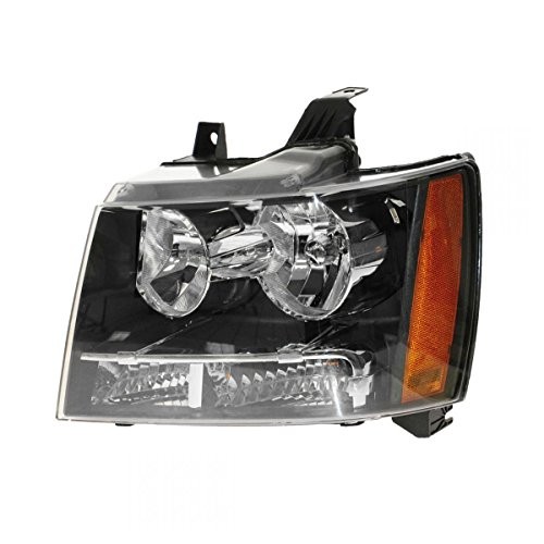 Headlight Headlamp Left LH Truck Driver Side for 07-13 Suburban Tahoe Avalanche