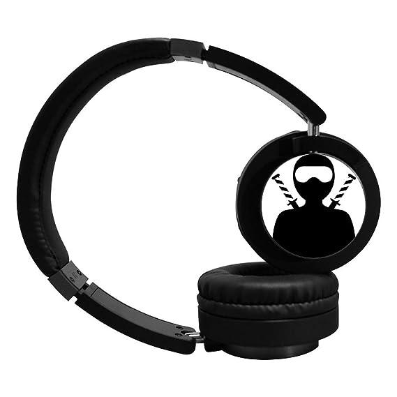 Amazon.com: PeKnt Ninja Wireless Bluetooth Headphones Stereo ...