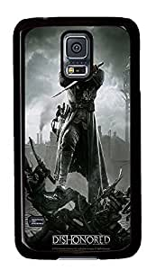 S5 Case, Galaxy S5 Case, Samsung Galaxy S5 Case - Hard PC Protective Dishonored 2012 Hd Cute Case Black Cover Heavy Duty Protection Shock-Absorption / Impact Resistant Slim Case for Galaxy S5 / Galaxy SV / Galaxy S V / Galaxy i9600