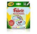 Crayola 10-Pack Fabric Markers thumbnail