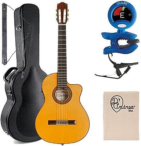 Cordoba 55 FCE guitarra electroacústica (cuerdas de nailon ...