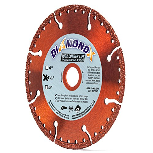Saw Off Diamond Cut Products - All-Purpose 4 1/2-Inch (4.5