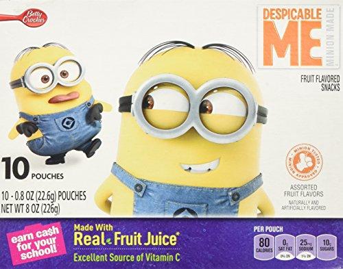 Betty Crocker Despicable Me Fruit Snacks - 8 oz -