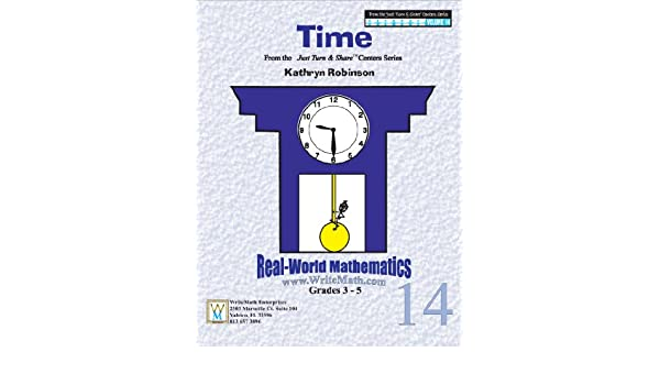 Teaching Time - 3rd, 4th, 5th Grade Math (Just Turn and Share ...