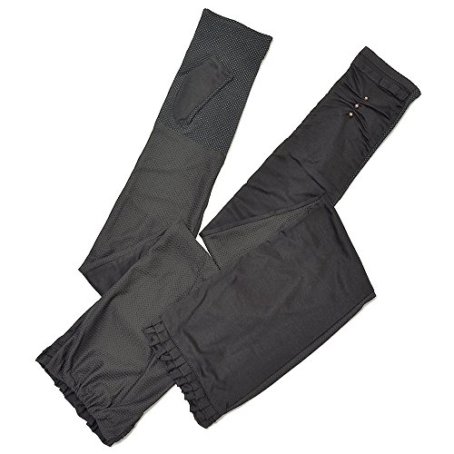 UVカット手袋 指なし 超ロングアーム 接触冷感 ひら滑り止めリボン フリル