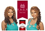 SAGA 100% REMY HUMAN HAIR LACE FRONT WIG - INVISIBLE PART - LEGEND - 1