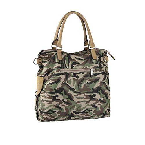 OBC Only-Beautiful-Couture - Bolso al hombro para mujer negro negro ca.: 47x40x19 (BxHxT) De Color Caqui Del Ejército