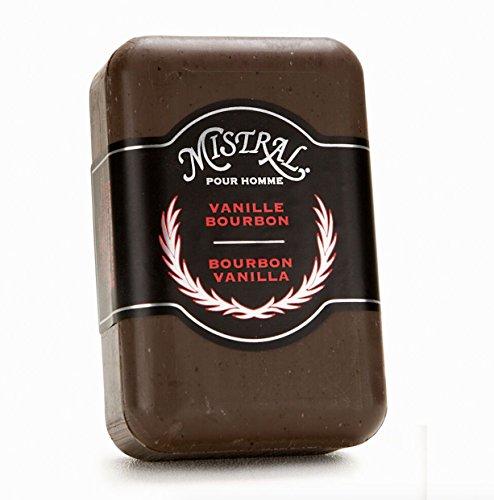 8.8 Ounce Soap (Mistral Men's Bar Soap 8.8 oz Bourbon Vanilla Scent)