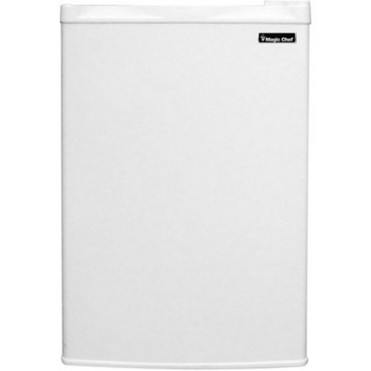 Magic Chef 3.0 cu ft Upright Freezer, White, Flush-back design saves space in your home or office by Magic Chef