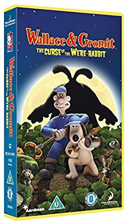 Wallace And Gromit The Curse Of Were Rabbit Vhs