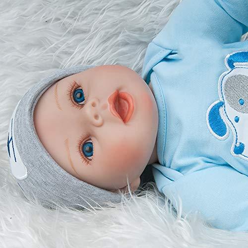 AFYH Simulation Doll Reborn Baby,Simulation Children's Doll - Rebirth Doll - Realistic Baby Companion - Colección de arte 55cm - Dé a su hijo un precioso Regalo. by AFYH (Image #3)