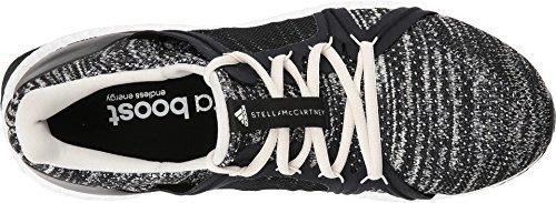 adidas by Stella McCartney Women's Ultra Boost Parley Core Black/Core Black/Chalk White 8.5 M US