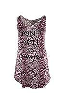 Curvy Couture Women's Plus Size Don't Dull My Sparkle Sleep Shirt, Mauve, M