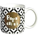 Mug cadeau à message  Papa en Or