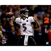 Joe Flacco Throwing Ball During Super Bowl XLVII 16x20 Photo Uns (PF)