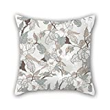 PaPaver cushion cases of flower,for dance room,teens,study room,floor,car,wedding 18 x 18 inches / 45 by 45 cm(double sides)