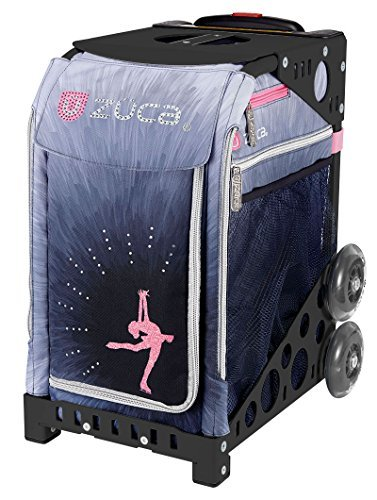 - ZUCA Sport Insert Bag, Ice Dreamz Lux w/Sport Frame Black (Non Flashing Wheels)
