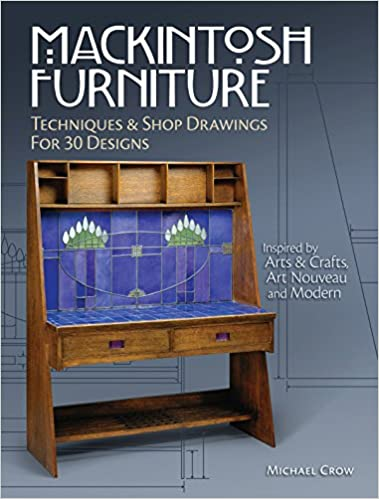 Mackintosh Furniture Techniques Shop Drawings For 30 Designs