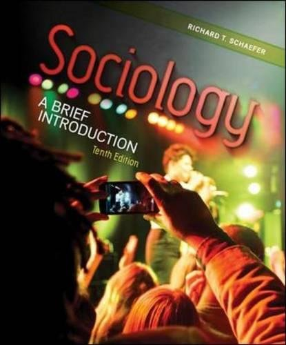 Sociology ― A Brief Introduction