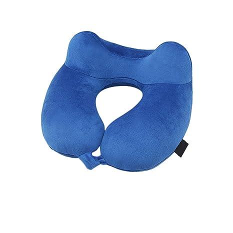 WHQ Almohada Inflable Vuelo/Cuello, Cojín en Forma de U ...