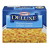 DELUXE Original Cheddar Macaroni and Cheese Dinner, 400g