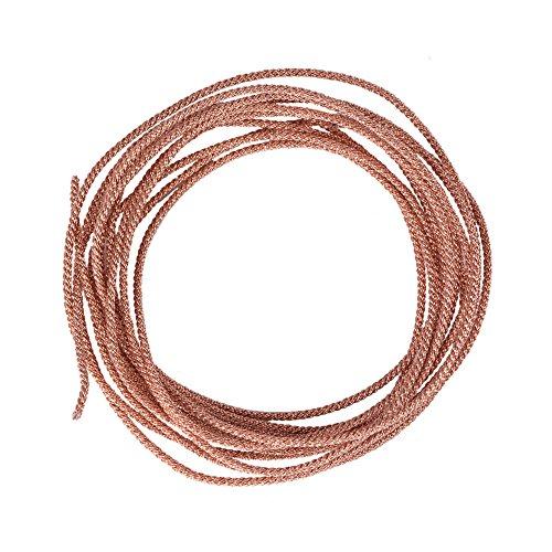 Zerone 12 Strands Speaker Lead Wire Subwoofer Woofer Lead Wire Repair Braided Copper Wire(2 M)