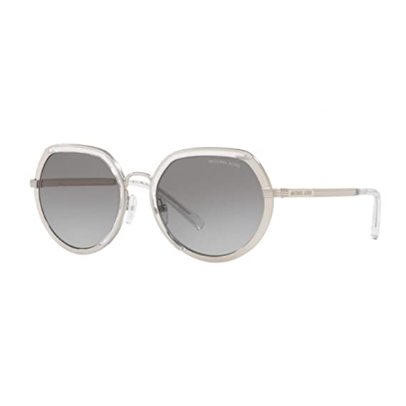 0f60953040e1a Michael Kors MK1034 305011 Silver MK1034 Round Sunglasses Lens ...