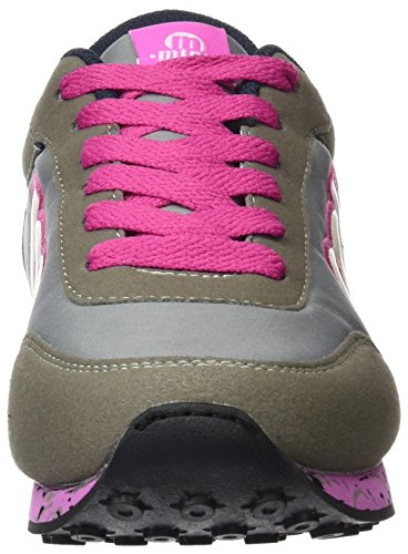 Fitness Oscuro De Gris raspe Chaussures C34439 Femme Mtng Funner Chica Bordado Fucsia xgqtYwg8I