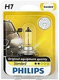 Philips 12972B1 Standard Halogen Headlight Bulb, 1 Pack