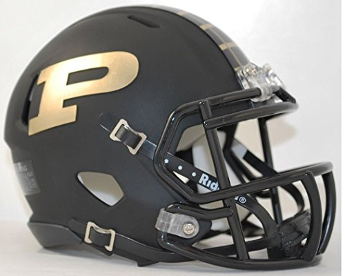 Riddell NCAA Purdue Boilermakers Helmet Mini Speed, One Size, Team Colors