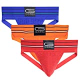 Golberg Men's Jockstrap Underwear - Athletic Supporter – Adult and Youth Jock Strap