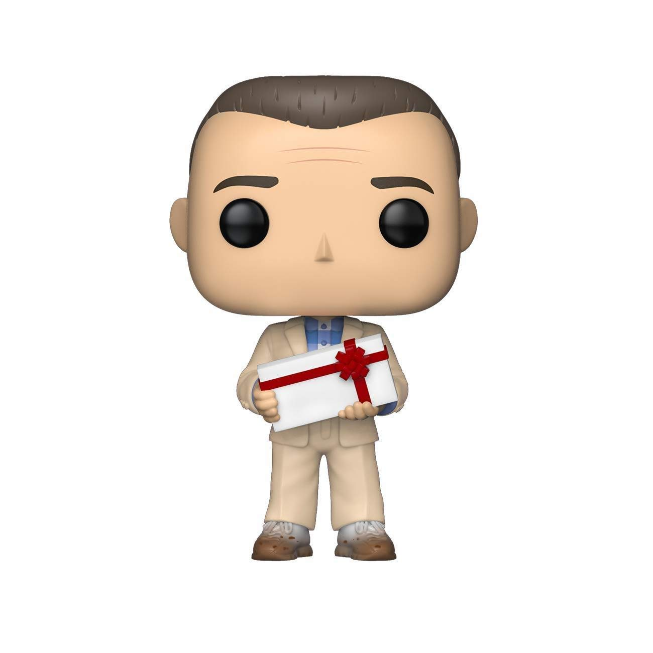 Amazon.com: Funko Pop! Movies: Forrest Gump - Forrest with Chocolates,  Multicolor: Toys & Games