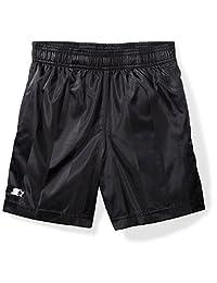 "Starter Boys' 7"" Soccer Short, Amazon Exclusive, Black, M (8/10)"