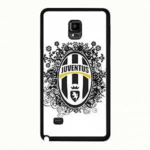 Juventus Logo Theme Phone Case for Samsung Galaxy Note 4 Juventus Logo Picture Cover