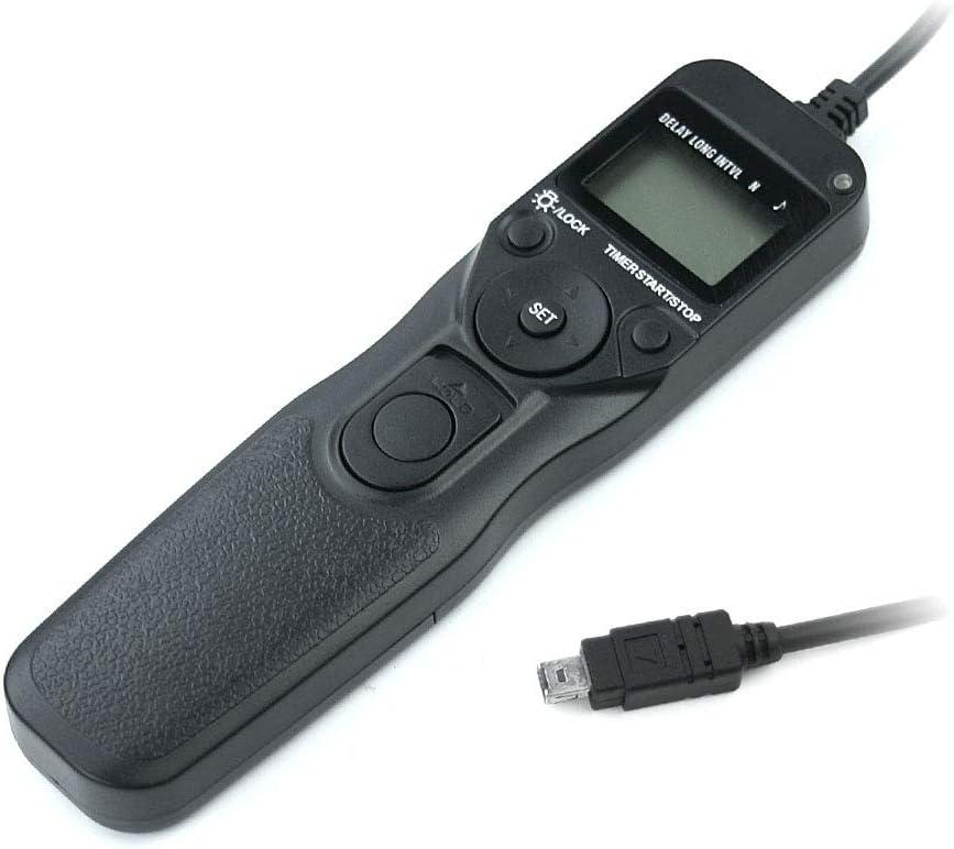 CELLONIC/® Camera remote for Nikon CoolPix P1000 D3100 D3300 D5000 D5500 D5600 D7200 D7500 D90 Z 6 Z 7 Camera remote shutter release camera remote trigger Cable shutter release MC-DC2 Camera remote control