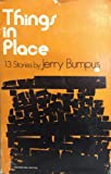 Things in Place, Jerry Bumpus, 0914590154